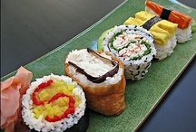 Sushi  / All things sushi from recipes to sushi themed gifts. / by Shannon Hayes