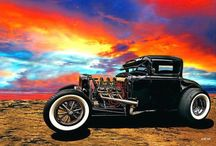 Hot Rods, Cars and Trucks / by Andy Solano
