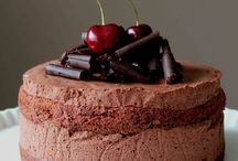 A chocolate cherry cake / by Lily C