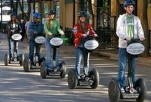 Segway Tours / You've done walking tours and bus tours, but have you tried the latest craze in sightseeing tours—Segway Tours? Hop aboard your own Segway Personal Transporter and explore a city in a new way. Most Segway tours begin with a short training session, so you'll be up to speed in no time. Check out our top picks for Segway tours from coast to coast. / by AAA