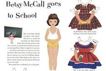 Paper Dolls / by Barb Moore MH, RHN