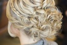 Fun buns and updos / by Sawyer Porter