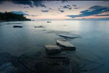 "The Great Lakes / The Great Lakes of Michigan… their waters lap against 3,200 miles of Michigan coastline onto sandy beaches and rocky shores, dotted with more than 100 public beaches, and two National Lakeshores. Here are fun facts, photos, resources and more on what makes Michigan ""The Great Lakes State."" / by Pure Michigan"