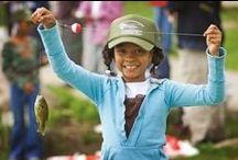 Gone Fishin' / Home to some of the country's feistiest trout, walleye, and salmon, fishing Michigan's waters is sure to leave you with a catch to brag about. Here's a roundup of locations and best practices to make the most of your Michigan fishing experience. / by Pure Michigan