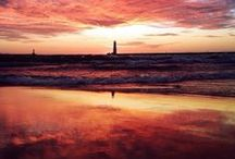 Michigan Beaches / With over 3,200 miles of shoreline and 11,000 inland lakes, the sandy beaches in Michigan relax us, restore us and patiently wait for us to break ground on our castles. Here are a few ways to enjoy what Michigan's beachtowns have to offer. / by Pure Michigan