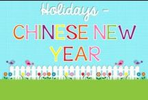 Chinese New Year / by Amanda Tervoort (First Grade Garden)
