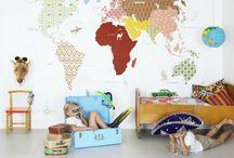 Kids rooms / by Stefanie Wilson