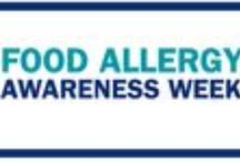 Food Allergy Awareness Week 2014 / The free resources on this page are available to help you educate others and raise awareness of food allergies. We'll be adding more and more resources and tools as Food Allergy Awareness Week approaches, so check back often! / by Food Allergy Research & Education