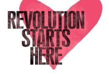 The Revolution is now!!! <3 / I hope you realize things are changing real quick. Where do you stand? Choose wisely because love will conquer! #ForeverVigilant  / by Melissa Lenè