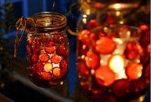 Mason Jar Fall Inspiration / by Mason Jar Crafts {love!}