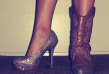 Heels to Cowgirl boots.. / by April Finucane