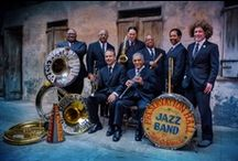 Preservation Hall Jazz Band / Our resident band - The Preservation Hall Jazz Band.  On tour and here at the Hall. / by Preservation Hall