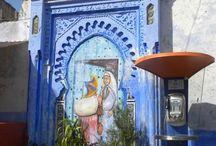 Morocco : Central & Northern ; Rabat, Fez , Meknes , Casablanca , Tangier , Tetouan , Nador , Oujdu / Southern & Eastern ; Marrakech , Essaoeira , Quafzazate , Algadir , Safi ,El Jadida , Figuig  / by Lindawati Santosa