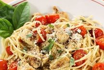Pasta/ spaghetti squash / by Kim Donegan