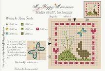 cross stitch patterns / Cross stitch / by Jodie Gomez