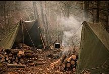 ⟐ Bushcraft ⟐ / by The Whistling Mystic