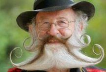 Barbas y bigotes. / by Cami Toledo