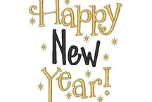 Happy New Year!! / A new year, a new start, a joyful reminder that we are lucky to be alive! / by Debra Lynn