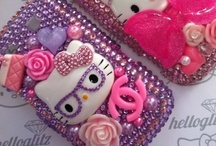 Crystal Crusted / Get out the glitter gun! It's the decoden trend. / by Emily Cantelupe