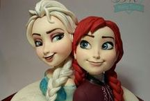 Frozen's Cakes / by OpErikA╠♥╣