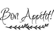 ⚜༺༻⚜ Bon appetit ⚜༺༻⚜ / by ⚜ Daffodil Cottage ⚜