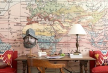 Maps as Decor / by Kelly Rogers Interiors