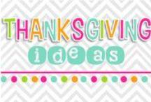THANKSgiving ideas! / by Nicole Alderson
