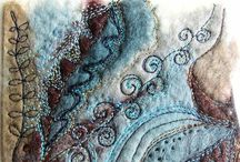 Art: Fiber, Textile, & Quilting / by Janna Ford