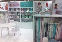 aden + anais tradeshow booths / take a look at our tradeshow displays from past events / by aden + anais