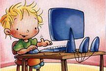 Nuevas tecnologias. TIC, TAC,.. / by Elena Santa