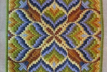 bargello designs and  possibilities / by Colleen Richards