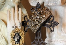 crowns & old bits and pieces and religious / by Pam S. (rangermomma)