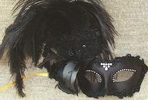 Feather Masquerade Masks / by VIVO Masks