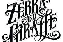Typography | Calligraphy / by ART & FOTO references