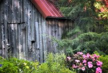 BARNS / by Patrick Vincent