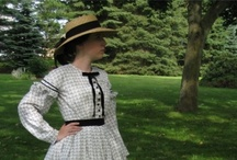 Civil War: Fashion / 1860s fashion, give or take 10 years  / by Emily Falzone