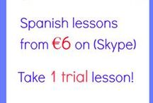 Learn free Spanish with So easy Spanish! / Learn easy Spanish for free. Visit www.soeasyspanish.com Easy grammar, free tests, useful links... / by Jasmine