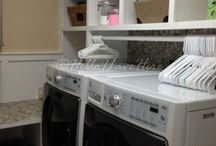 Laundry Room Ideas / by Hello I Live Here