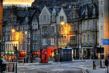 London, Paris, Edinburgh: Winter 2014 / by Rachel Ackerman