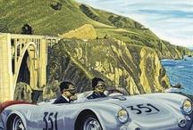 AFFICHES et POSTERS  The CAR / Affiches, publicités, posters, lithos qui concernent toutes les autos / by André BIANCO