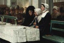 Hoevenaar family / Adrianus Hoevenaar (Utrecht 1732 - Duinkerken 1793) was procureur en notaris in Utrecht. Hij was tevens een amateurtekenaar en -schilder. In 1787 moest Hoevenaar de stad ontvluchten. Zijn dochter trouwde in Calais met patriottenleider Pieter Ondaatje. Na 1795 keerde de familie terug. Zijn zoon Adrianus (1764-1832), kleinzonen Cornelis Willem (1802-1873), Willem Pieter (1808-1863) en achterkleinzonen Jozef (1840-1927) en Cornelis Willem (1847-1884) beoefenden ook de teken- en de schilderkunst. / by Caroline