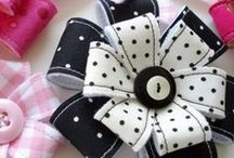 bows, flowers, accessories / by Rosa Maria