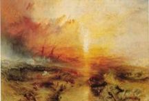 william turner and jmw turner / by Debby KIng