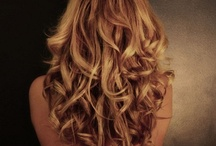 Curly hair styles / by H-Salon Color.cut.design