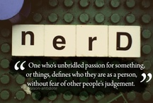 {nerd n{a}tion} / letting my geek freak flag fly / by April George