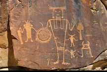 GLYPHS & GRAFFITI / Petroglyphs, Pictographs, Hieroglyphics, Symbols, Scripts, Graffiti - ancient and modern world-wide - and art that uses these in a creative way. / by Helen Thein