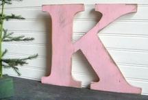 The Letter K / by Krafty Kat