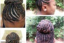 Natural Hair Styles / by Dena Hill