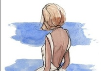 Ilustración de moda / by Pilar Varela Labbé