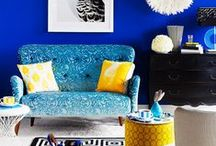 Home Decor / I love colour contrasts, striking bold colours and all kinds of prints from florals to geometrics. This is a collection of some of the best I've seen. / by Sheranga S